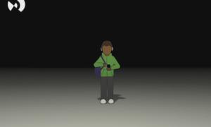 still uit animatie eenzaamheid